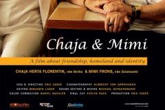 Chaja & Mimi. Filmplakat. Regie: Eric Esser