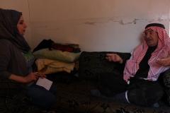 """""""Experiment Rojava in Syrien - Eine Gesellschaft im Aufbruch"""". Fatima im Gespräch mit Sheik. Regie: Robert Krieg"""