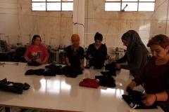 Frauen-in-der-Nähfabrik