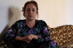 """""""Experiment Rojava in Syrien - Eine Gesellschaft im Aufbruch"""". Frauenaktivistin Fatima zuhause. Regie: Robert Krieg"""