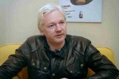 Free Speech Fear Free. Filmstill. Julien Assange