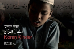 Korankinder. Filmplakat. Regie: Shaheen Dill-Riaz