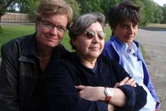 Out in Ost Berlin. Bettina Dziggel, Marinka Körzendörfer, Marina Krug.Regie: Jochen Hick & Andreas Strohfeldt